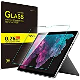 Luibor Microsoft Surface Pro 6 Tablet Tempered Glass Screen Protector Ultra-Thin 9H Hardness HD Clear Glass Screen Protector for Microsoft Surface Pro 6 Tablet (1pcs)