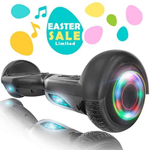 XPRIT Easter Sale Hoverboard w/Bluetooth Speaker (Black)