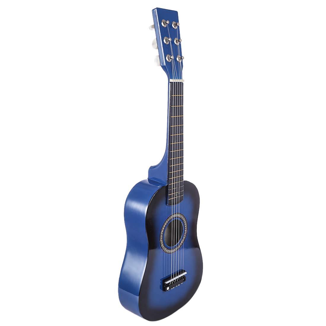 Rolanli Guitare Enfants, 6 Cordes 23 Pouces Guitare de Simulation Jouet de Musique pour Guitare Débutant