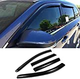 Deebior Side Window Wind Deflectors & Visors