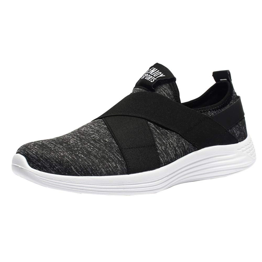 Mens Lightweight Breathable Mesh Running Sneakers RQWEIN Mens Sneakers Mesh Ultra Athletic Running Walking Gym Shoes