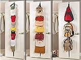 Spacehome@ 2 PCS/lot Over Door Straps Hanger Hooks Lanyard Hanger Adjustable Hat Bag Organizer Handbags/Purses/Scarves/Hats Rack