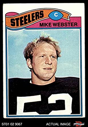 b0e2ee441 1977 Topps   99 Mike Webster Pittsburgh Steelers (Football Card) Dean s  Cards 3 -