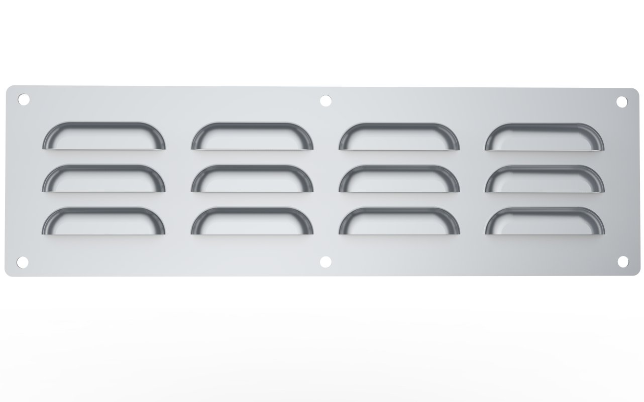 SUNSTONE Vent-S 15-Inch by 4-1/2-Inch Stainless Steel Venting Panel by SUNSTONE