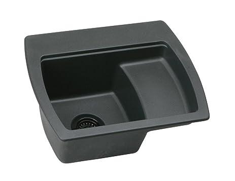 Elkay ELG2218LBK0 Harmony E Granite Sink, Black