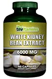 Cheap TNVitamins White Kidney Bean Carb Formula 6000 Mg – 60 Capsules