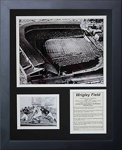 Legends Never Die Chicago Bears Wrigley Field Framed Photo Collage, ()