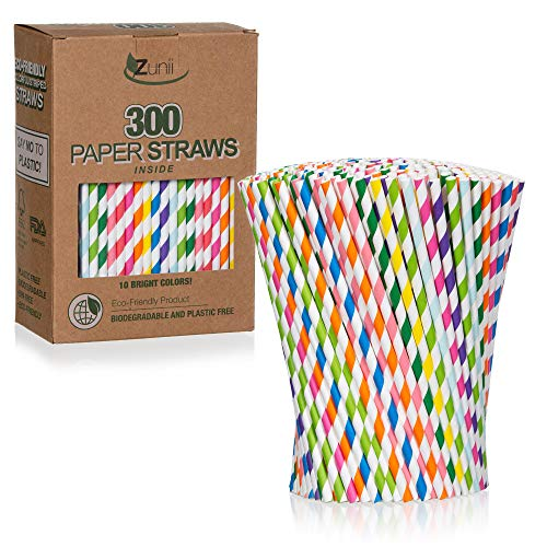 The 10 best paper straws white colour bendable 2020