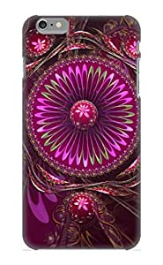Runandjump AvmalJ-1327-Oepda Case Cover Skin For Iphone 6 Plus (Abstract Fractal)/ Nice Case With Appearance