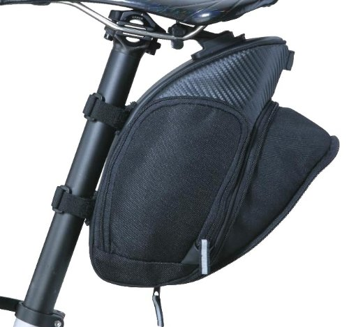 Topeak Mondo Pack with Fixer F25 with Extendable Back Pocket, 12.6 x 5.1 x 6.3-Inch (X-Large) by Topeak