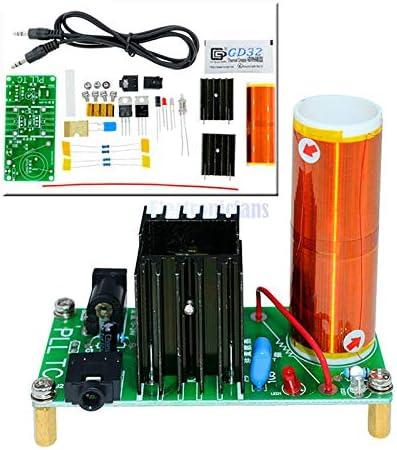 15W Mini Music Tesla Coil Plasma Speaker Tesla Wireless Transmission Diy Board