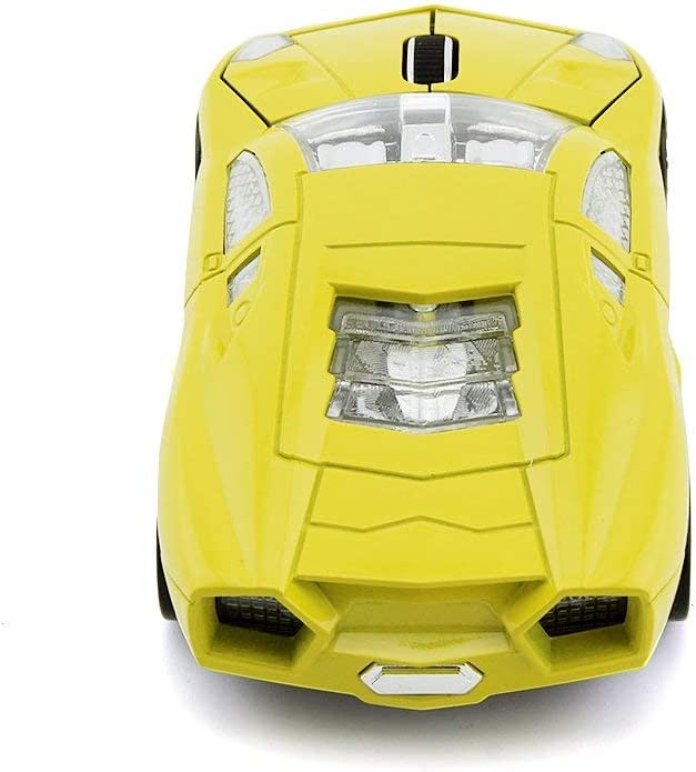 Yellow iBigboy for Lamborghini Sports Car Mouse Wireless Computer Mice Optical 2.4GHz Desktop Laptop Mouse