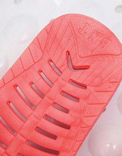 Créatif Taille Pastèque Antidérapantes Rose Couple Été Animé De Creux couleur M Salle Sandales Pantoufles Dessin Pantoufles Suxian Bains Pantoufles Pantoufles Rouge qI1nRwTS