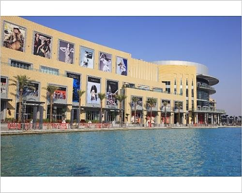 Photographic Print of Dubai Mall, Downtown Burj Dubai, the largest shopping mall in the - Malls Downtown La In Shopping