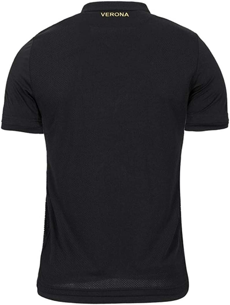 Macron Hellas Verona 3rd Jersey 18//19 schwarz Fan Trikot Italien Serie A Shirt