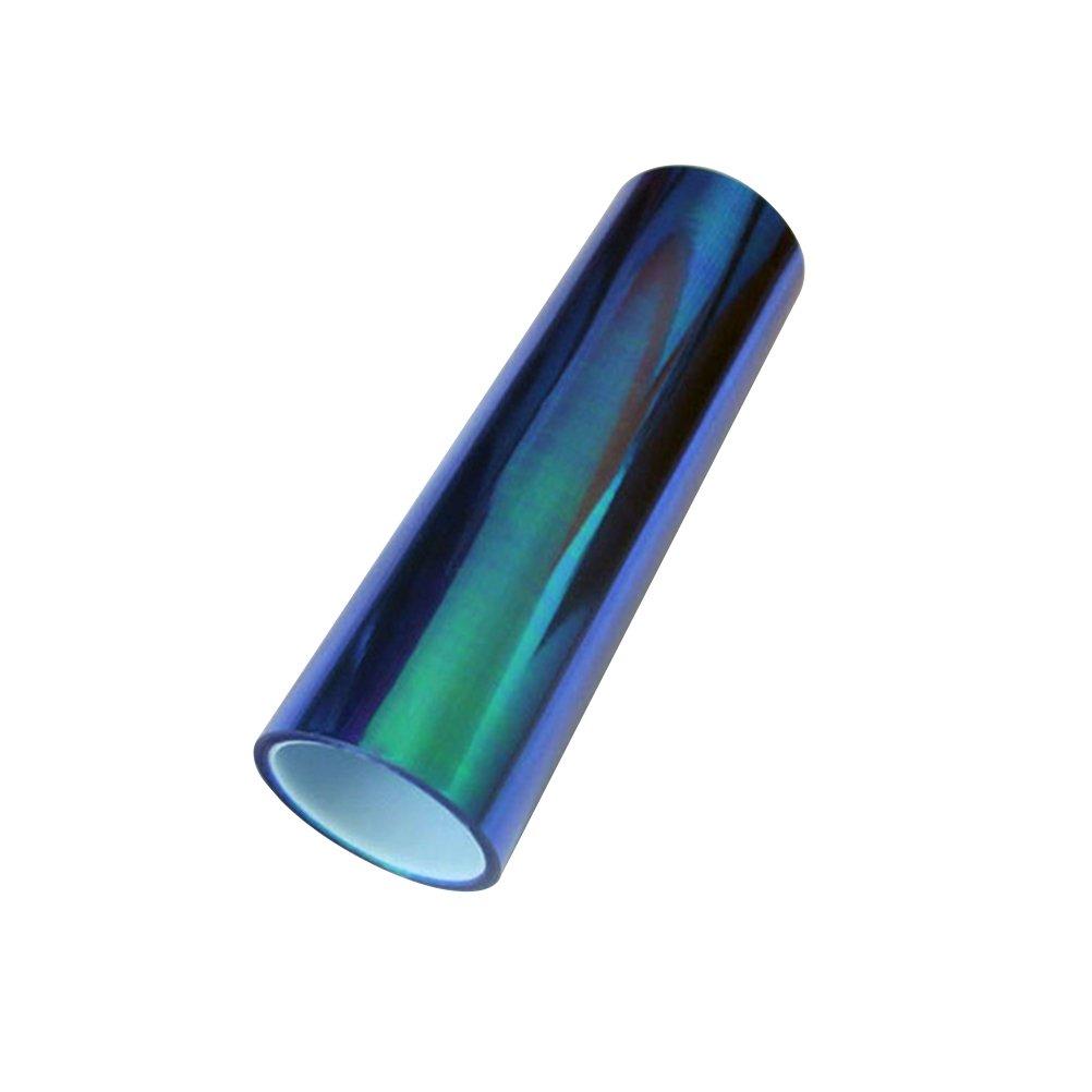 WINOMO Film Teinté Voiture Phare Feux Anti-brouillard Film Teinté 30 x 500cm (Bleu Foncé) 162449MZ74D5355