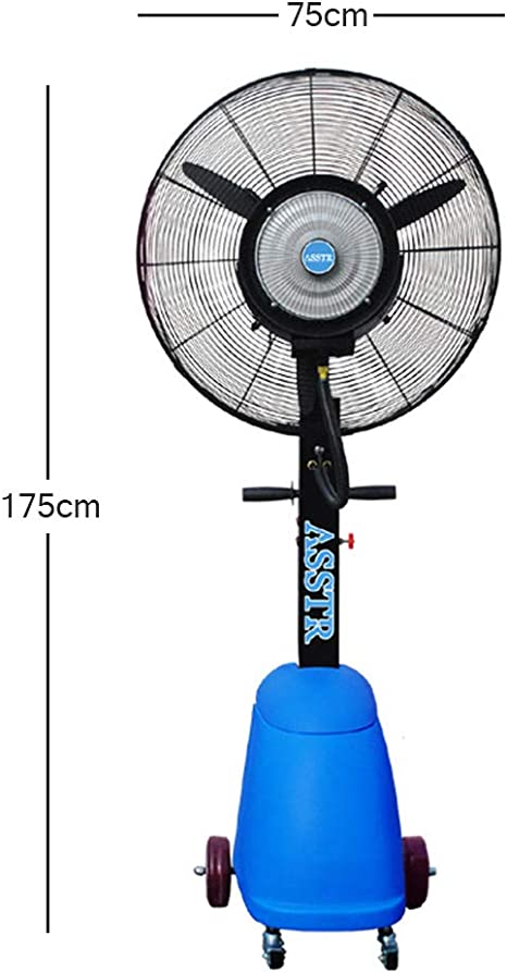 Ventilador Industrial Oscilador oscilante Vertical Pulverizador ...