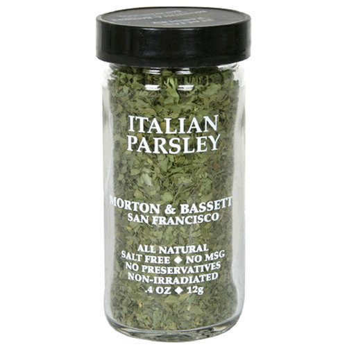 Morton & Bassett Italian Parsley.4-Ounce Jars (Pack of 3)