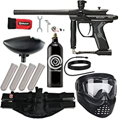 The Action Village Epic Paintball Kit is the perfect package to get you out on the field this weekend! This kit is the perfect one stop shop, bundling the best paintball guns with excellent accessories. This package include a Kingman Spyder F...