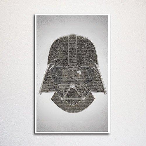 (Star Wars word art print 11x17