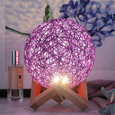 HUAXING LED Night Light USB Powered Home Decor Bedroom Office Table Night Lamp Novel Light Gift for Kids