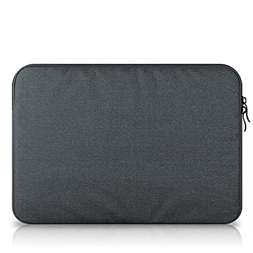 Samsung Galaxy Book 10.6 Laptop hülle sleeve, KuGi Samsung Galaxy Book 10.6 11.0 Zoll Laptop Hülle Tasche Denim Stoff Tasche für Samsung Galaxy Book 10.6 11.0 Zoll Oberfläche Buch.(Blau) schwarz