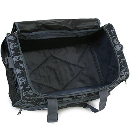 51MRWOqxgjL - Fila Source Sm Travel Gym Sport Duffel Bag, Black Digi Camo