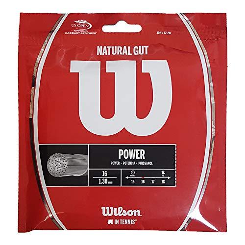Wilson Natural Gut Tennis String (16G)