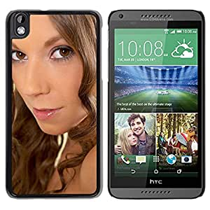 New Custom Designed Cover Case For HTC Desire 816 With Lizzie Ryan Girl Mobile Wallpaper.jpg