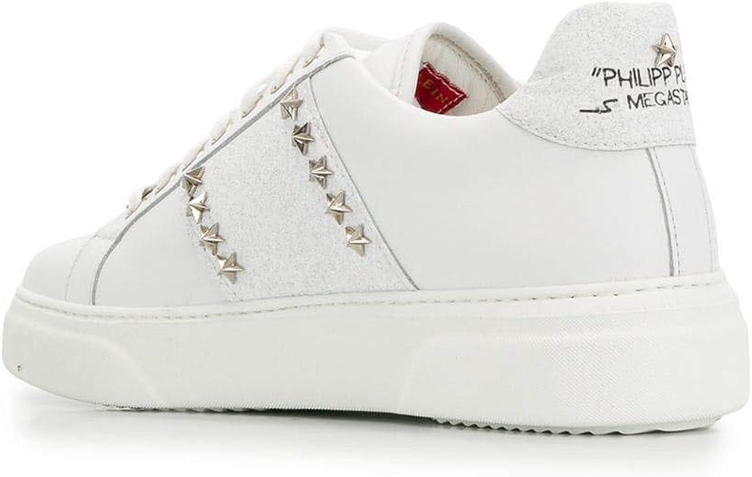 PHILIPP PLEIN Sneaker Donna in Pelle Bianca (79PPD) (39 EU