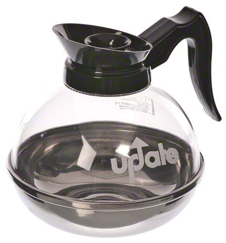 Update International (CD-8890) 64 Oz Plastic Decanter for Regular Coffee