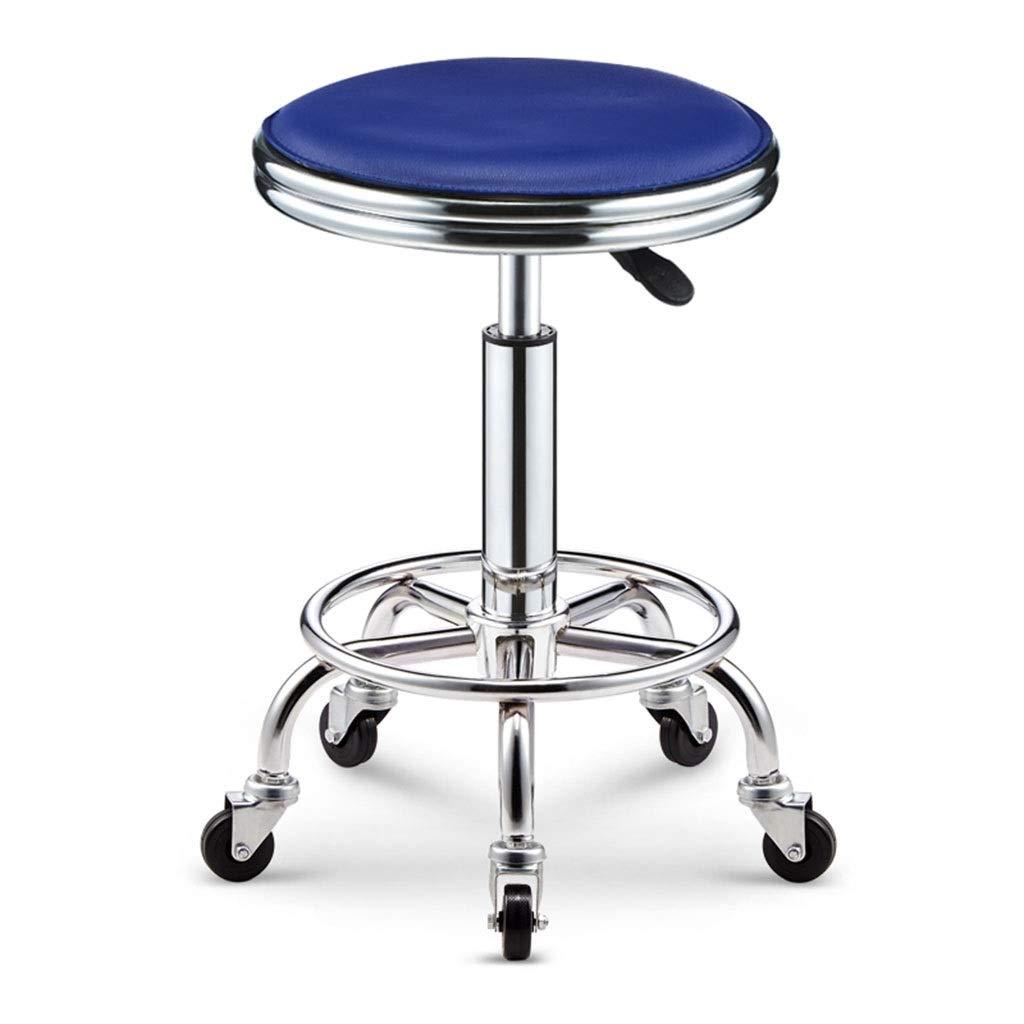 CFJRB レトロの産業バースツール、喫茶店の理髪店の滑車の椅子のための持ち上がる回転式美スツール (色 : Color#5) B07QFKNK1N Color#5