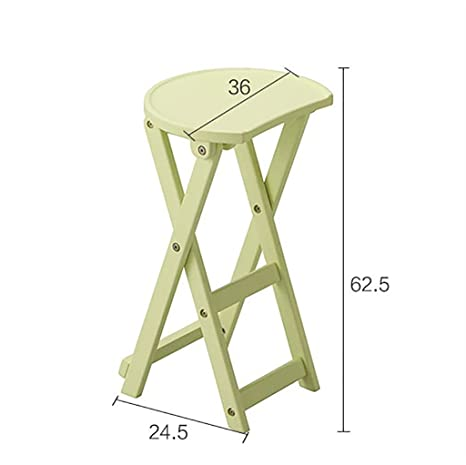 Amazon.com - LHcy Solid wood folding stool Modern and simple ...