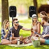Costzon Portable 2-Way Powered PA Speaker