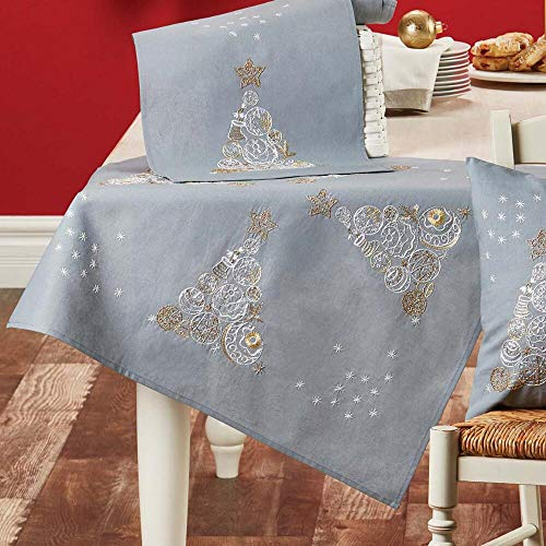 Herrschners® Swirling Stars Table Topper Stamped Embroidery Kit ()