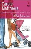A Minor Indiscretion, Carole Matthews, 0373250339