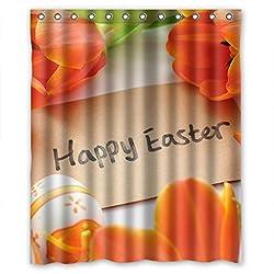 Easter tender beautiful flowers Shower Curtain
