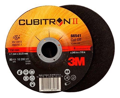 Cubitron II 66541 3M Cut-Off Wheel 66541, T27 6