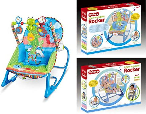 Newborn Bouncing Rocker Vibration Musical Infant to Toddlers Baby Chair