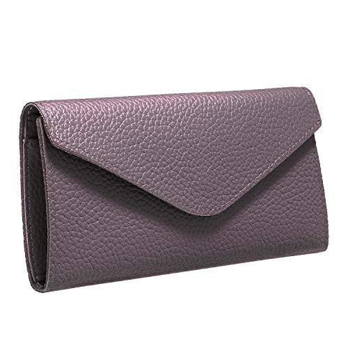 élégant noir soirée 3PCS main enveloppe JewelryWe pour de violet PU Sac femme à en vert Pochette xR7g7wqH