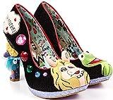 Irregular Choice X Disney The Muppets Super Couple Black Heels-41