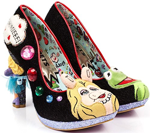 Irregular Choice X Disney The Muppets Super Couple Black Heels-41 by #Irregular Choice