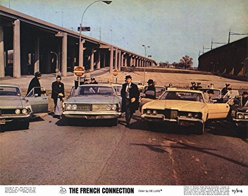 The French Connection POSTER Movie (1971) Style B 11 x 14 Inches - 28cm x 36cm (Gene Hackman)(Roy Scheider)(Fernando Rey)(Tony LoBianco)(Eddie Egan)(Sonny Grosso)(Marcel (French Connection Pop)