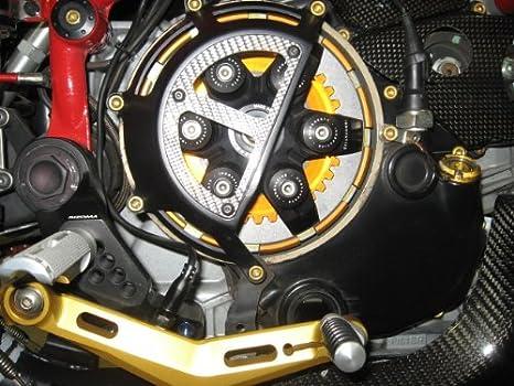 Azul Ducati Billet plato de presión del embrague Hub 748 749 916 996 998 999 S4R S4RS SS: Amazon.es: Coche y moto