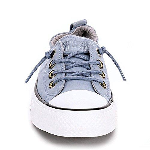 Converse Kvinders Kystlinjen Slip På Sneaker Blå Skate / Aske Grå pygpqfP