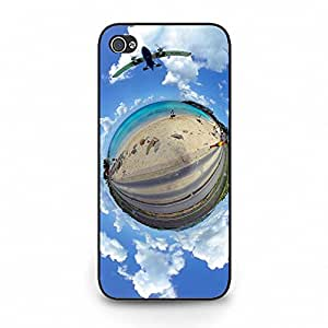 Upside Down Blue Sky Little Earth Pretty Protective Phone Case for Iphone 5C