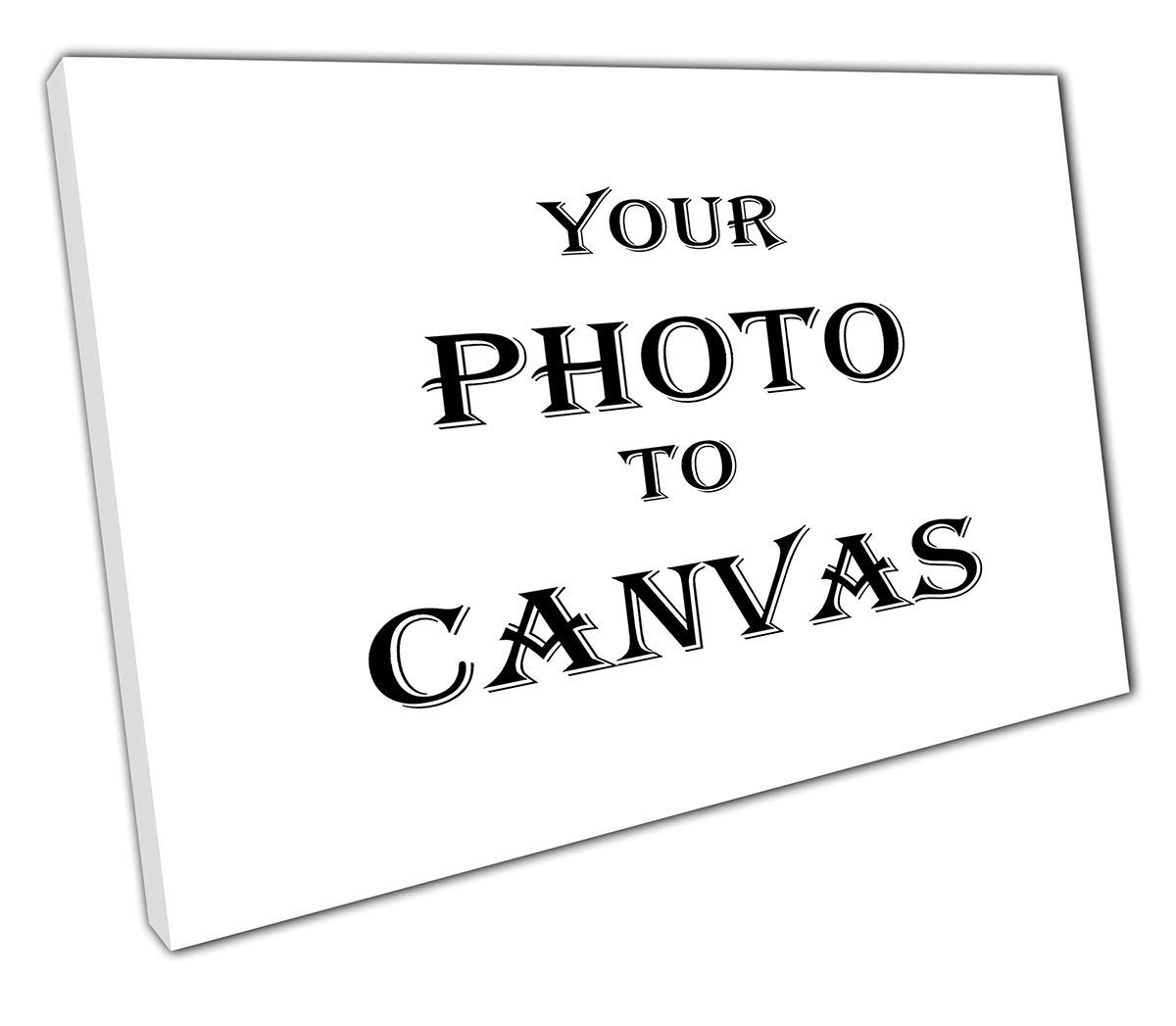 EACanvas PRINT ON CANVAS PICTURE PHOTO TO CANVAS PERSONALISED 20MM READY TO HANG 60 X 40CM - A2 EvolutionArt