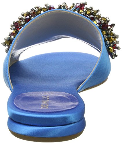 Dei Mille Dame Dominga W/acc. Dei Mille Damer Dominga W / Acc. Offene Sandalen Blau (aqua Satin) Åbne Sandaler Blå (aqua Satin) hxona3Xu