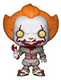 Funko Pop Movies: IT-Pennywise with Severed Arm-Amazon Exclusive Collectible Figure, Multicolor