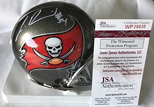 Lavonte David Signed / Autographed Tampa Bay Buccaneers Mini Football Helmet - JSA Certified (Bay Helmet Replica Buccaneers Football Tampa)